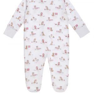 Pijama Enteriza Working Puppies Zipper Rosa